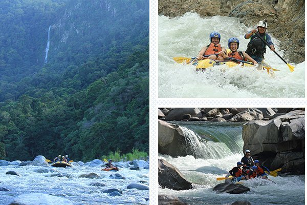 rafting class 3 to 5 cangrejal river