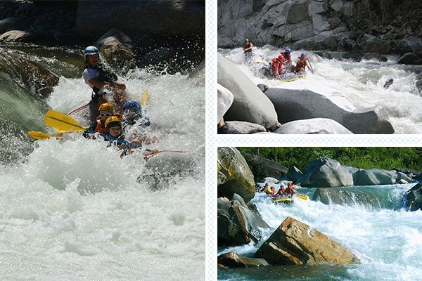 rafting class 4 and 5 cangrejal river